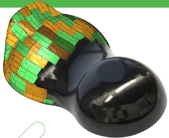 Cevotec Additive Fiber Patch Placement