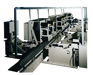IMC Advanced Composites Automated Delivery and laminating system