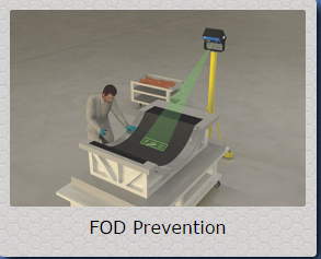 Aligned Vision Lasers and Accessories FOD Detection