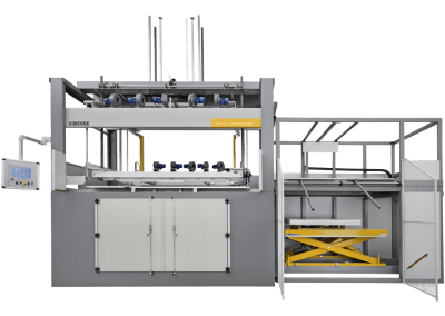 Biesse Therma Thermoformer for Thermoplastics