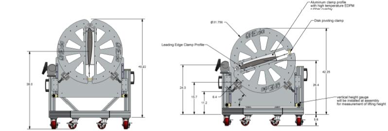 ONExia Blade cart ISO drawing