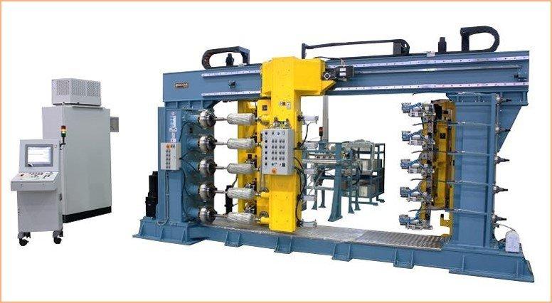 Multi Spindle Filament Winding Machine
