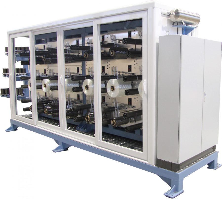 Fully Automated Tensioned Creel