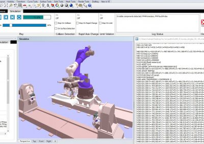 Offline programming and simulation software