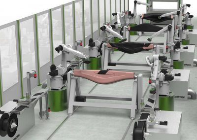 Cevotec's multi robot unit