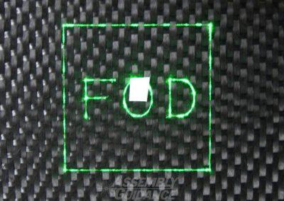 Aligned Vision HD Camera FOD Detection