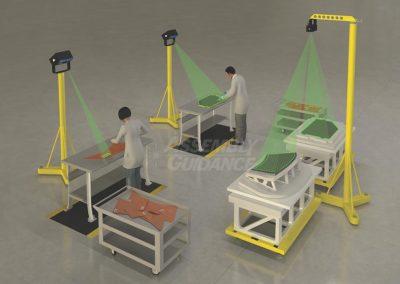 Aligned Vision Multi-Tasking Composite Laser Templating Systems