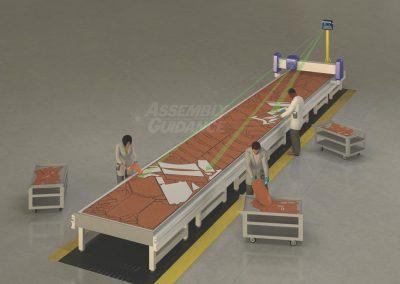 Aligned Vision Multi-Tasking Laser Kitting System