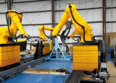 Arcadia Aerospace Dual Robotic UT NDI
