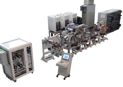 Mikrosam Tow Preg Production Line